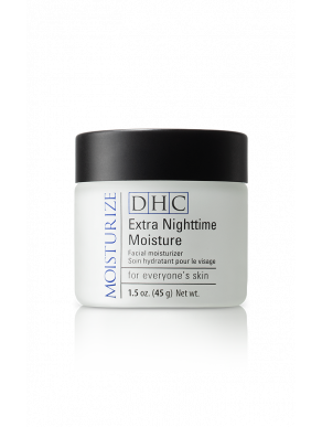 DHC Extra Nighttime Moisture - 1.5 oz. Hydrating cream with collagen & antioxidant-rich olive oil.
