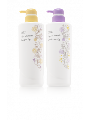 DHC Light & Smooth Shampoo-Conditioner Set