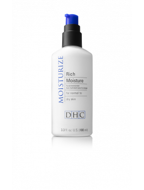 DHC Rich Moisture - Lightweight hydrating facial moisturizer for dry or aging skin