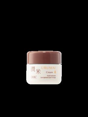 DHC Urumai Cream Travel Size - Travel size facial moisturizer - 0.35 oz jar