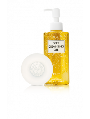DHC Classic Double Cleanse Limited Edition Set - Limited Edition Deep Cleansing Oil & Mild Face Soap