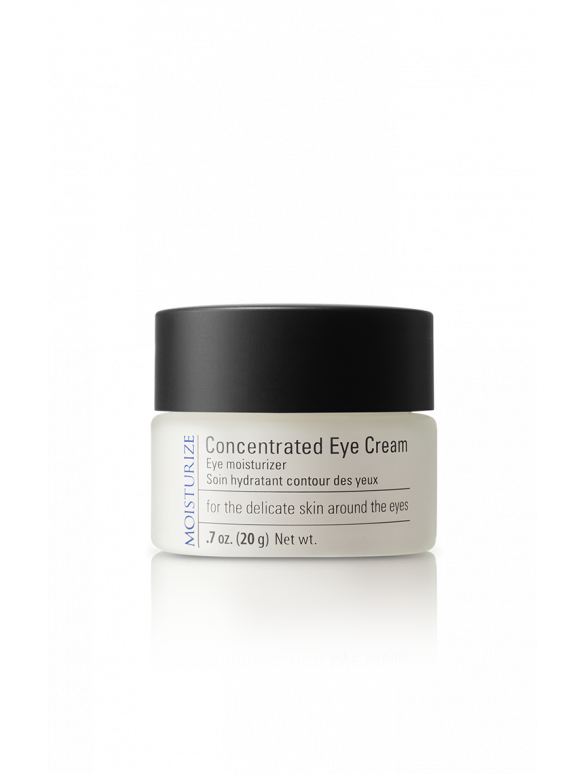 Concentrated Eye Cream is a hydrating cream that targets premature aging concerns such as fine lines, wrinkles, crow's feet and dark circles.