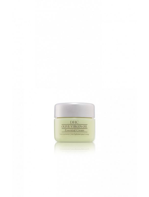 DHC Olive Virgin Oil Essential Cream Travel Size - Olive Oil Face Cream