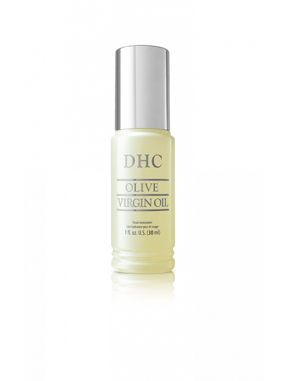 DHC Olive Virgin Oil Facial Oil Moisturizer - 1 fl oz bottle. DHC Olive Virgin Oil is a lightweight anti-aging facial oil and moisturizer that helps fight damage caused by free radicals.