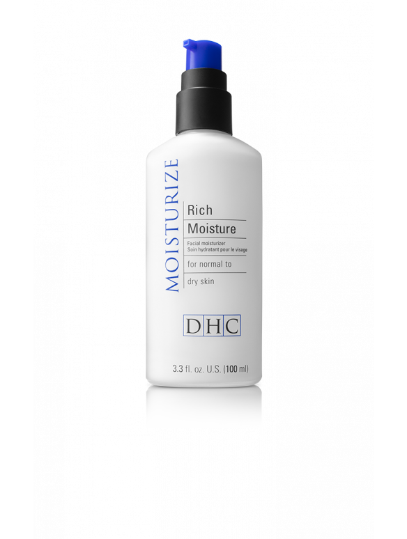 Rich Moisture is a lightweight facial moisturizer that hydrates dry skin and fights signs of premature aging.