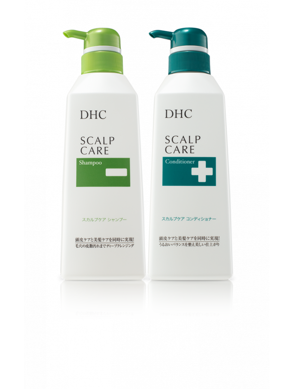 DHC Scalp Care Shampoo + Conditioner Set