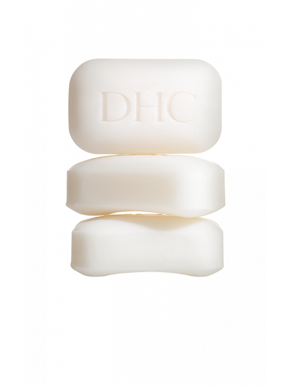 DHC White Soap Trio Set