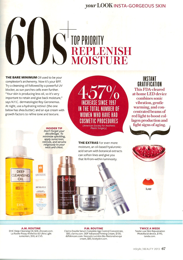 InStyle Beauty Fall 2013 Insid