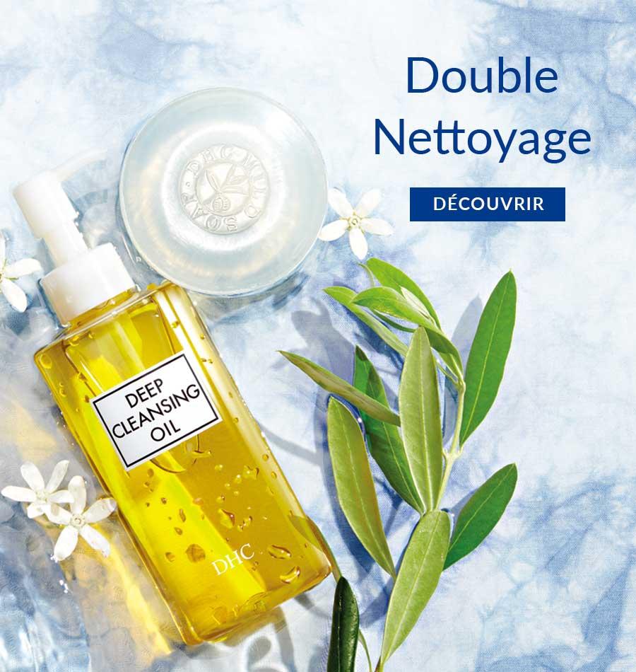 Double Nettoyage DÉCOUVRIR