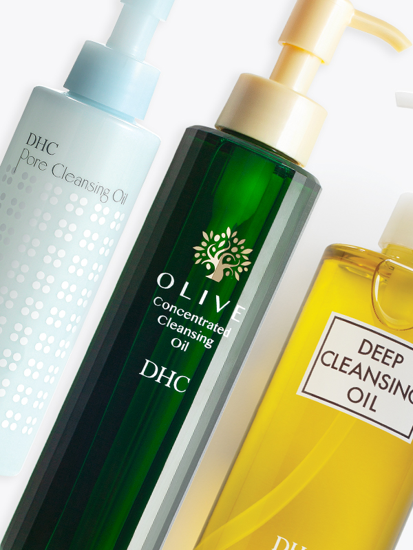 DHC Cleansing oils