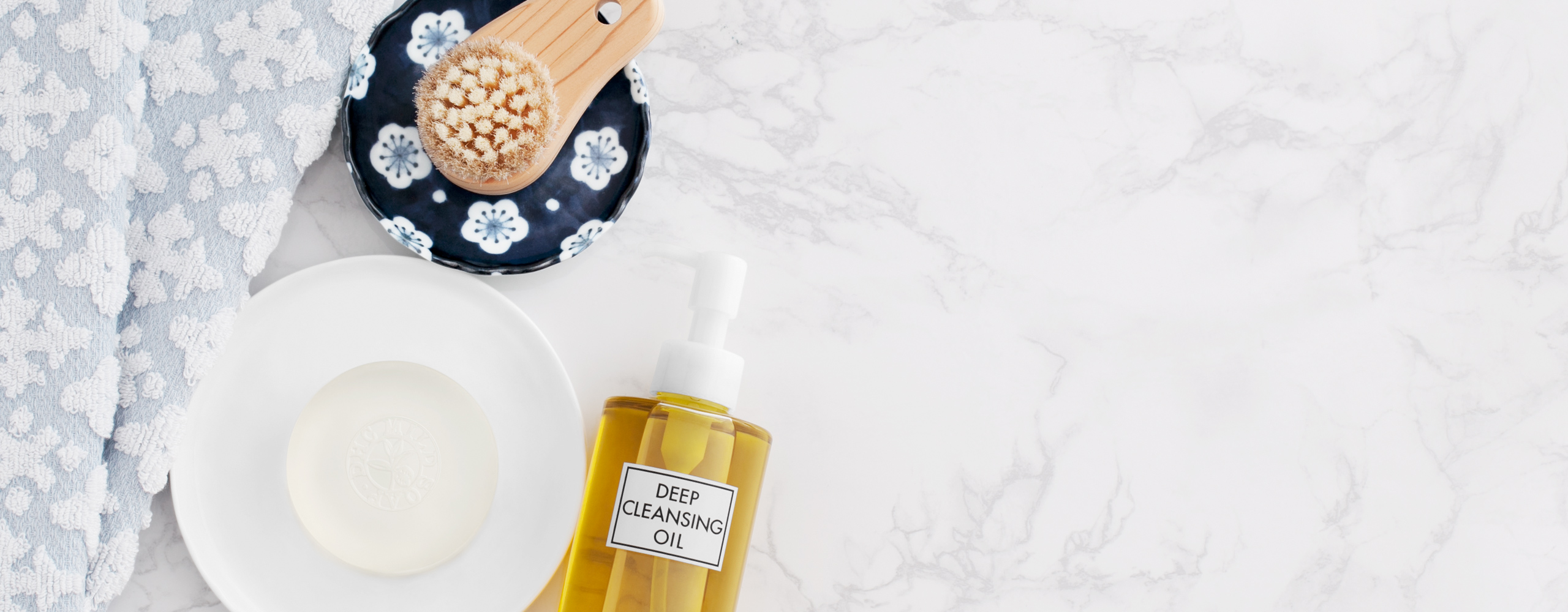 DHC Deep Cleansing Oil for a Double Cleansing regimen