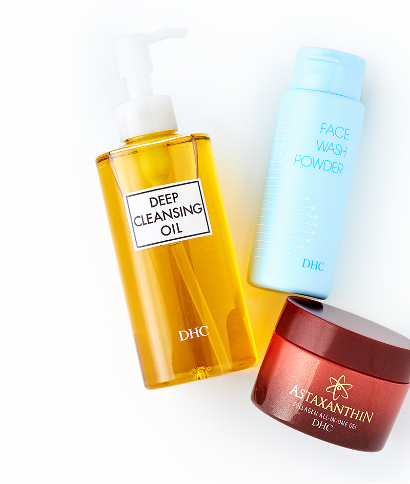 japanese 3-step skincare regimen