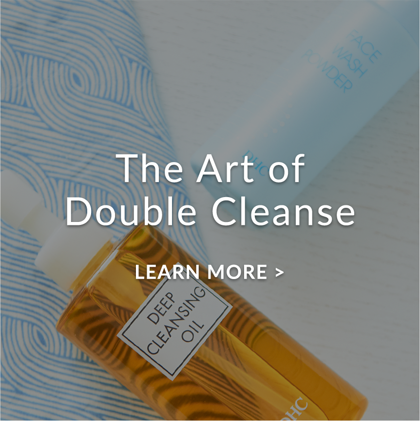 double-cleanse demonstration video