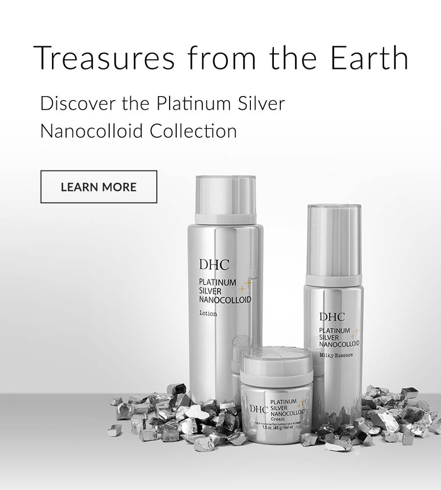 Treasures from the Earth Discover the Platinum Silver Nanocolloid Collection LEARN MORE