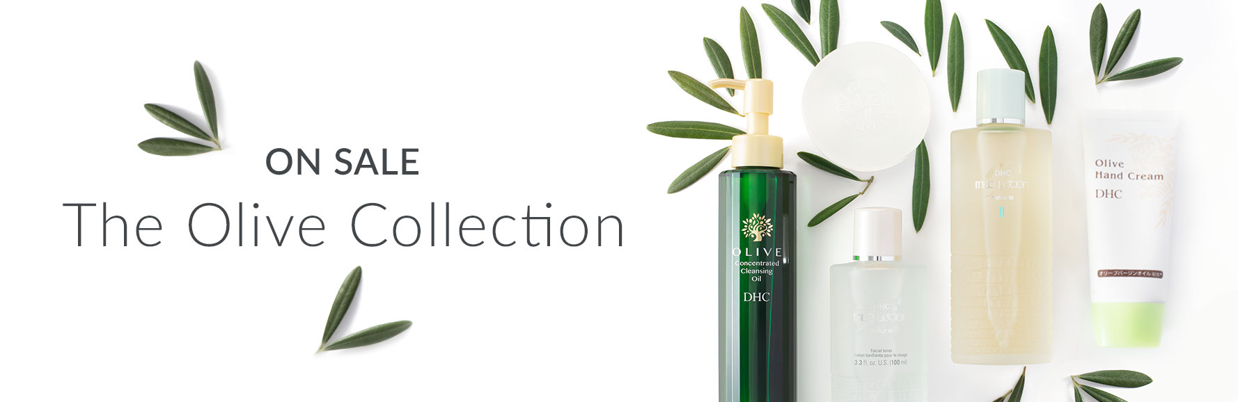 On Sale. The Olive Collection.