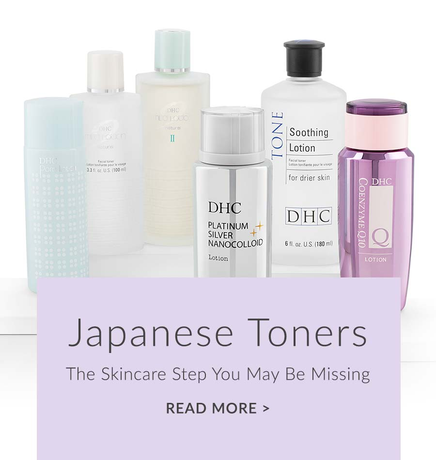 japanese toners—the skincare step you may be missing
