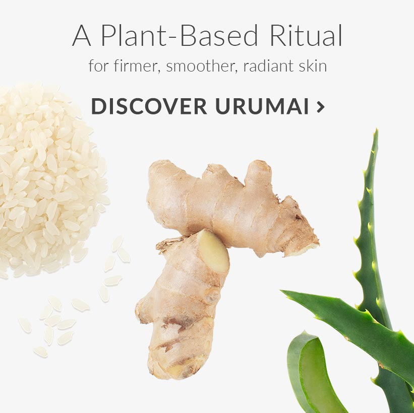 A Plant-Based Ritual for firmer, smoother, radiant skin. Discover Urumai.